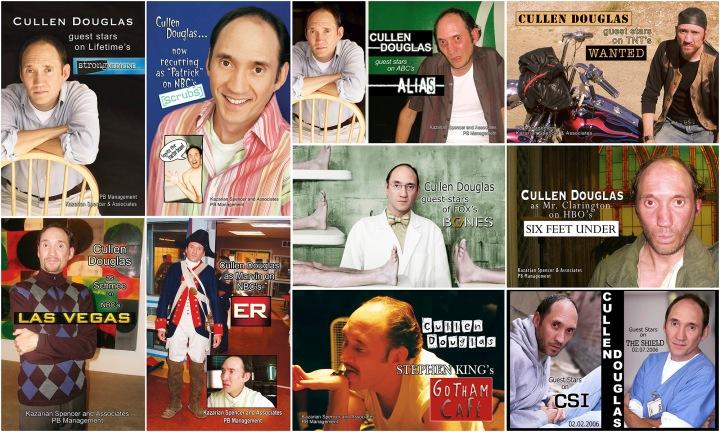 Cullen Douglas - Promotional Postcards