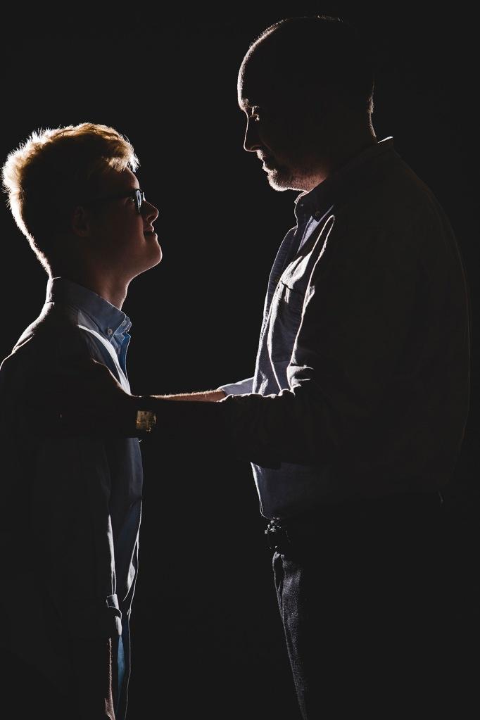 Cullen & Gabriel Douglas - photo by Blake Gardner Photography