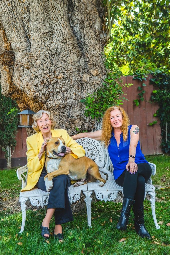 Liz & Greta Hanley of BiCoastal Talent - photo by Blake Gardner Photography