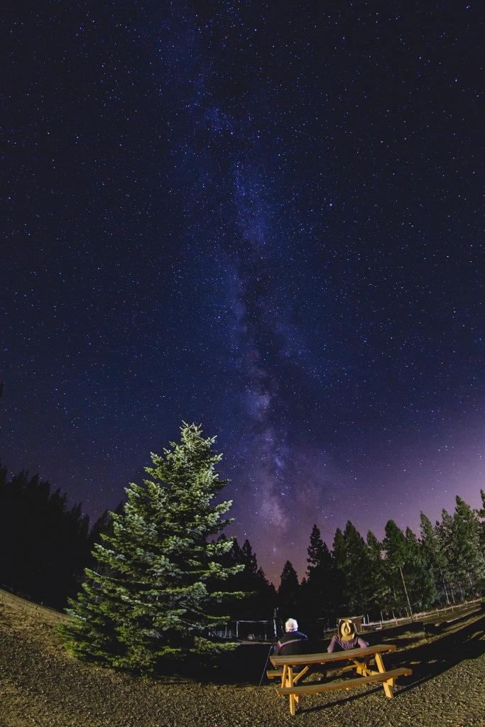 Floyd & Blake Gardner - stargazing - photo by Blake Gardner Photography